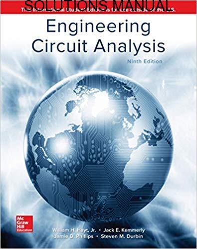 Solution Manual Engineering Circuit Analysis