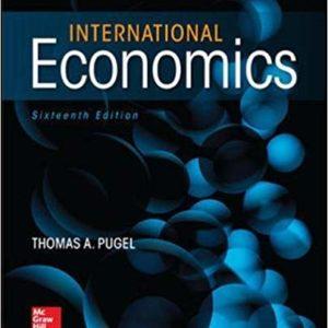 Solutions Manual for International Economics