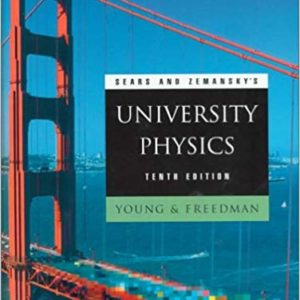 Solutions Manual for University Physics with Modern Physics by Young Freedman | 14th Edition