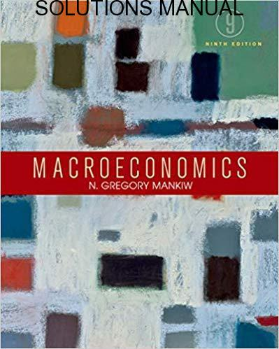 Principles of Macroeconomics 4th Edition by Gregory Mankiw