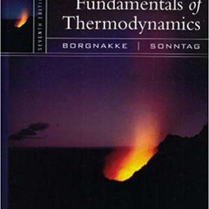 Solutions Manual Fundamentals of Thermodynamics 7th edition by Borgnakke & Sonntag