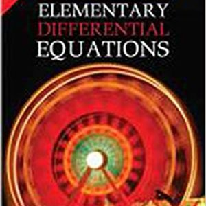 Solutions Manual Elementary Differential Equations 8th edition by Rainville & Bedient