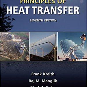 Solutions Manual Principles of Heat Transfer 7th edition by Kreith, Manglik & Bohn