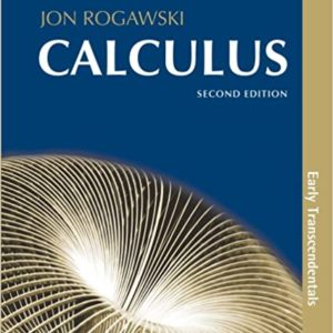 Solutions Manual Calculus: Early Transcendentals 2nd edition by Jon Rogawski, Ray Cannon
