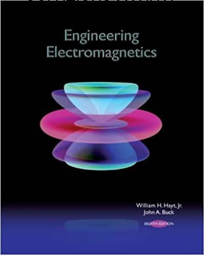 Solutions Manual Engineering Electromagnetics 8th edition by William Hayt