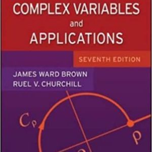 Solutions Manual Complex Variable and Applications 7th edition by Brown & Churchill