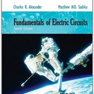 Solutions Manual Fundamentals of Electric Circuits 4th edition by Alexander & Sadiku