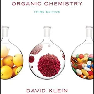 Solutions Manual Organic Chemistry 3rd edition by David Klein