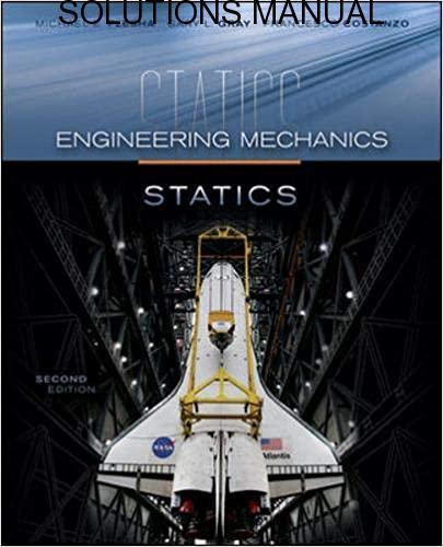 Solutions Manual Engineering Mechanics: Statics 2nd edition by Plesha Gray & Costanzo