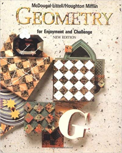Solutions Manual of Geometry for Enjoyment and Challenge by Rhoad & Milauskas | new edition