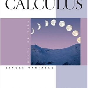 Solutions Manual of Accompany Calculus Late Transcendentals Single Variable by Anton & Davis   9th edition