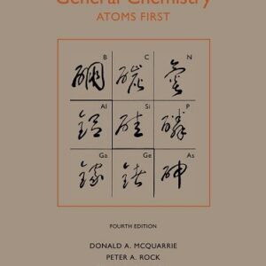 Solutions Manual of Accompany General Chemistry by McQuarrie | 4th edition