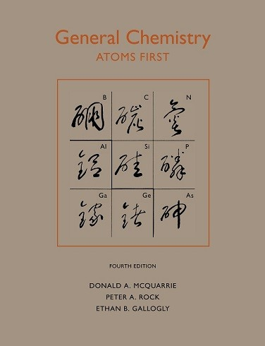 Solutions Manual of Accompany General Chemistry by McQuarrie   4th edition
