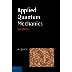 Solutions Manual of Applied Quantum Mechanics by Levi   2nd edition