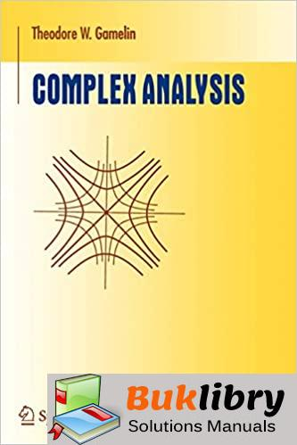 Solutions Manual of Complex Analysis by Gamelin |  1st edition
