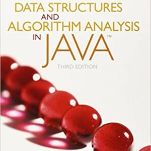Solutions Manual of Data Structures and Algorithm Analysis in Java by Weiss   3rd edition