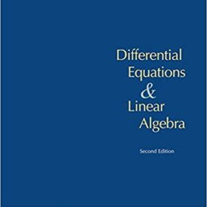 Solutions Manual of Differential Equations and Linear Algebra by Farlow & Hall   2nd edition