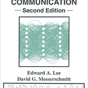 Solutions Manual of Digital Communication by Lee & Messerschmitt | 2nd edition