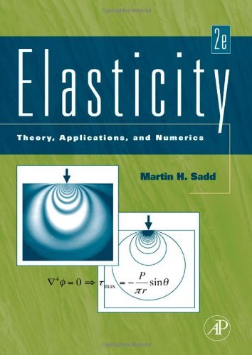 Solutions Manual of Elasticity: Theory, Applications and Numerics by Sadd   2nd edition