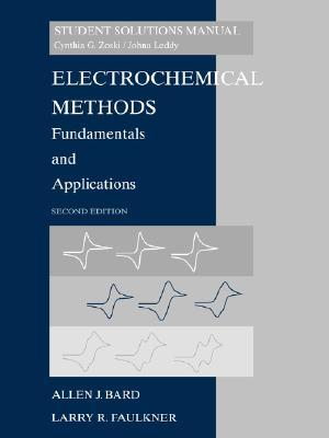 Solutions Manual of Electrochemical Methods by Bard & Faulkner | 2nd edition
