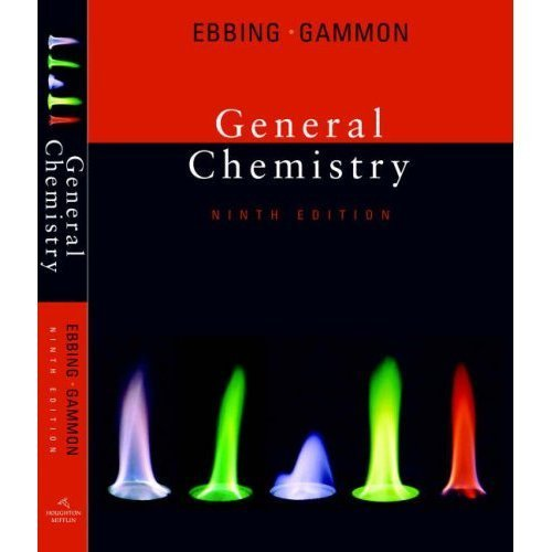 Solutions Manual of General Chemistry by Bookin & Ebbing | 9th edition