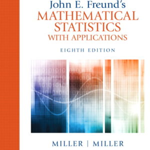 Solutions Manual of John E. Freund's Mathematical Statistics With Applications by Miller | 1st edition