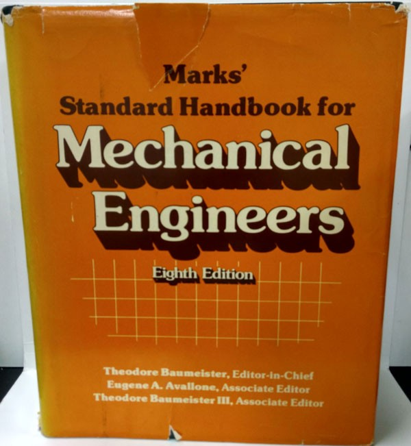 Solutions Manual of Mechanical Engineers by Baumeister & Avallone | 8th edition