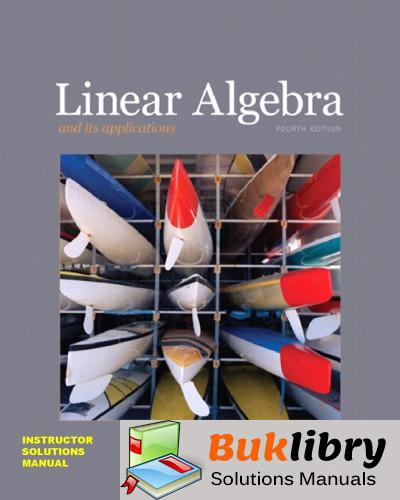 Solutions Manual of Linear Algebra and Its Applications by Polaski & McDonald | 4th edition