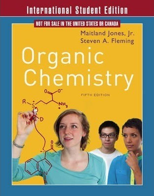 Solutions Manual of Organic Chemistry by Jones & Gingrich | 5th edition