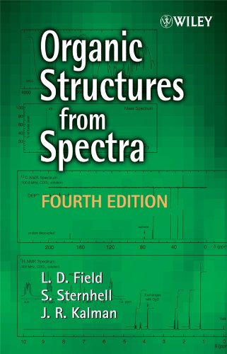 Solutions Manual of Organic Structures From Spectra by Field & Sternhell | 4th edition