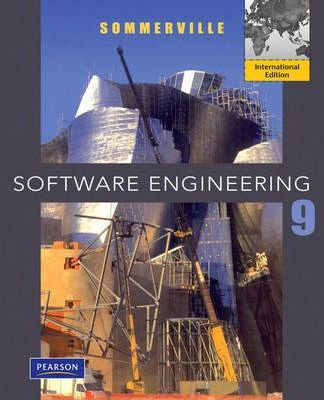 Solutions Manual of Software Engineering by Sommerville | 9th edition