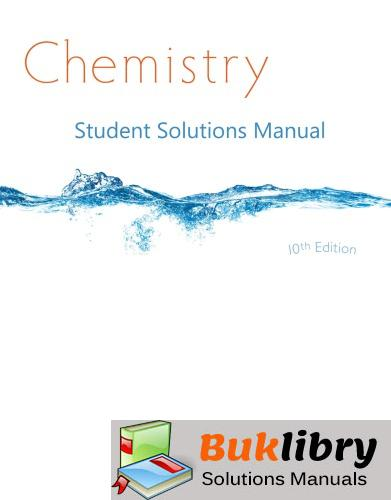 Solutions Manual of Whitten's Chemistry by Whitten & Davis | 10th edition