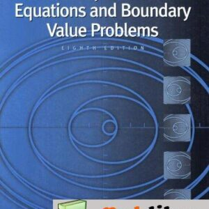Solutions Manual of Accompany Boyce Elementary Differential Equations and Boundary Value Problems by Haines & Boyce   8th edition
