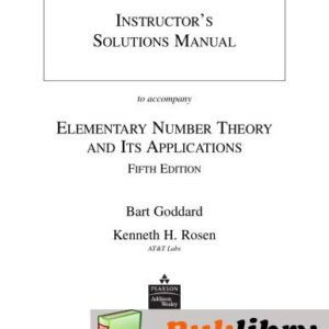 Solutions Manual of Elementary Number Theory and Its Applications by Rosen   5th edition