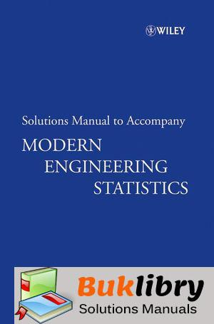 Solutions Manual of Modern Engineering Statistics by Ryan   1st edition