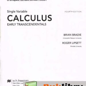 Solutions Manual of Calculus Early Transcendentals by Rogawski & Adams | 4th edition